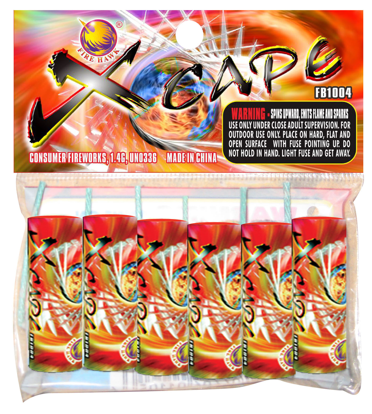 FB1004 Xcape header card
