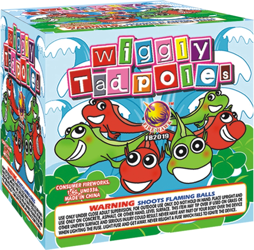 FB2019 Wiggly Tadpoles