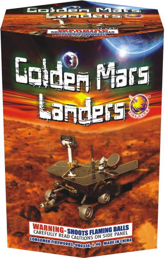 FB220 Golden Mars Lander