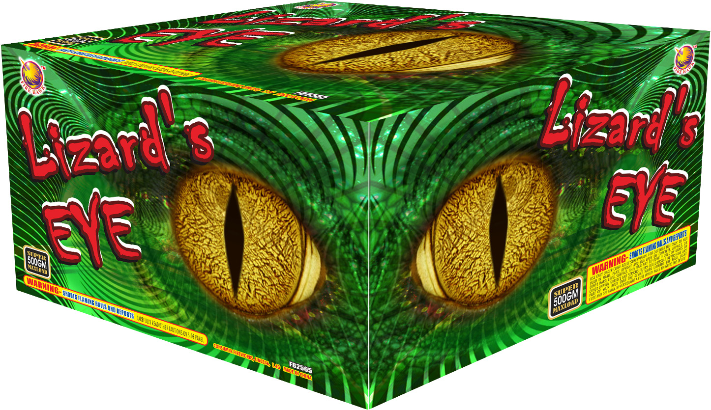 FB2564 Lizards eye