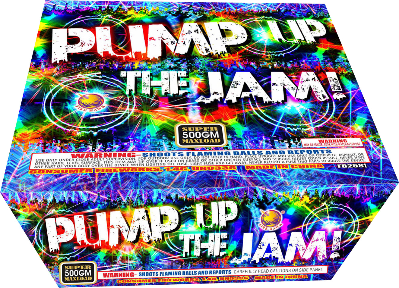 FB2592 Pump Up The Jam