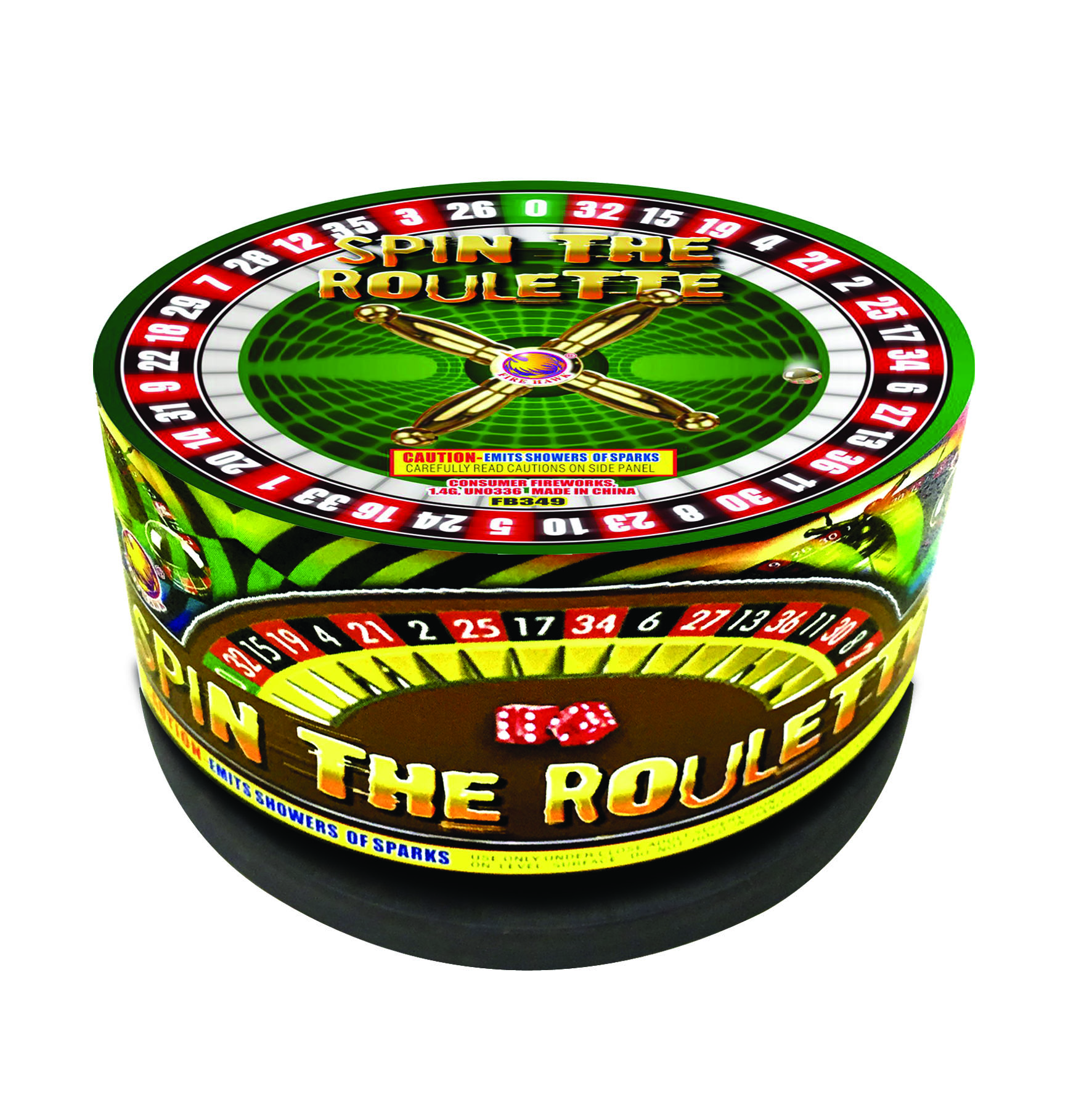 FB349 Spin The Roulette