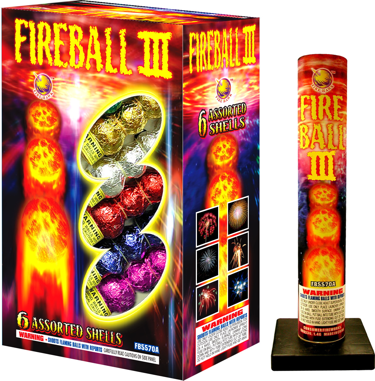 FB5570A Fireball III