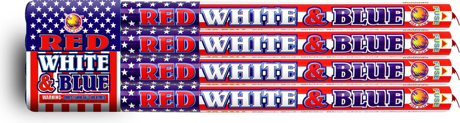 FB6016 Red White Blue Crackling