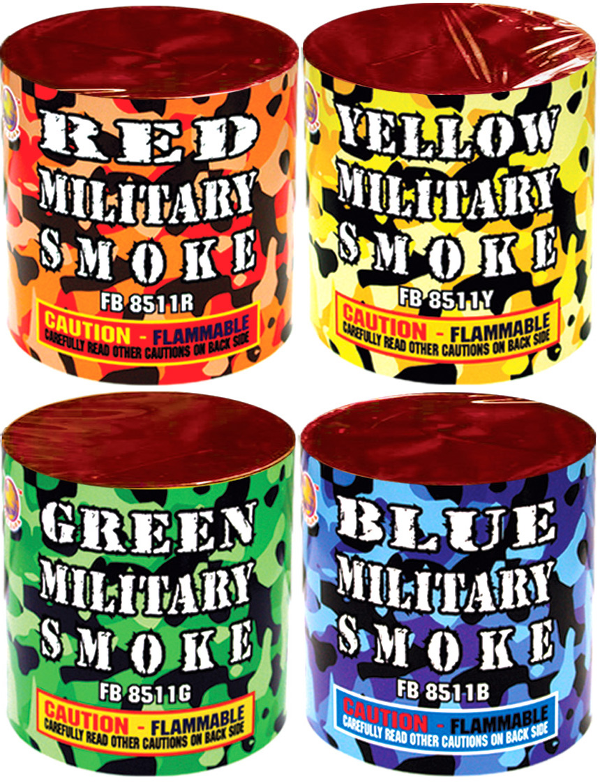 FB8511-ASST Assorted Military Smoke In 4 Colors copy