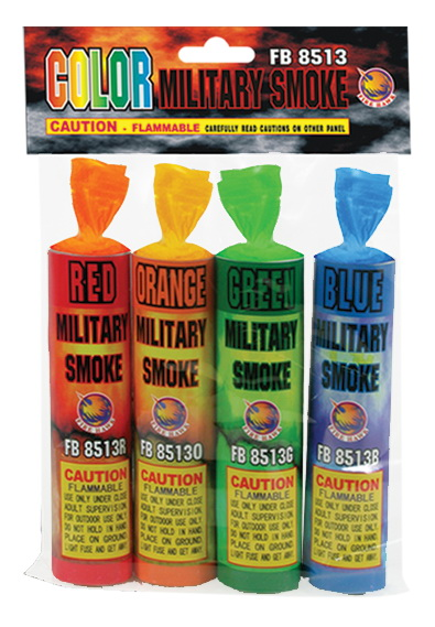 FB8513 Assorted Military Smoke