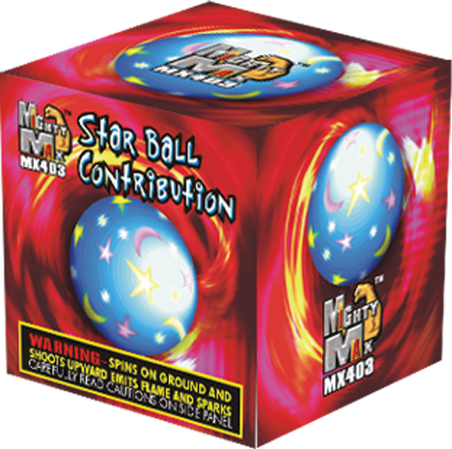 MX403 3 inch Star Ball Contribution