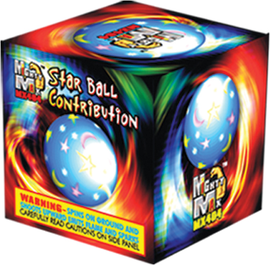 MX404 2 inch Star Ball Contribution