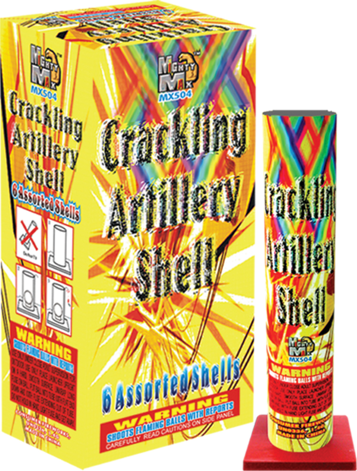 MX504 Crackling Artillery Shells copy