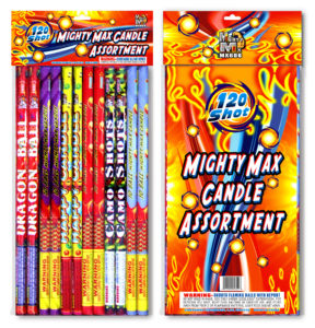 MX606 Mighty Max Candle Assortment