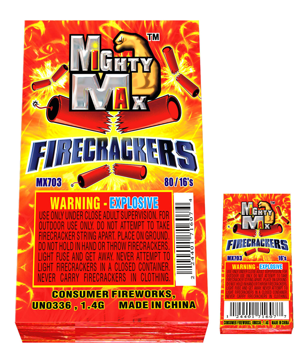 MX703 1-0.5 inch Mighty Max Firecrackers copy
