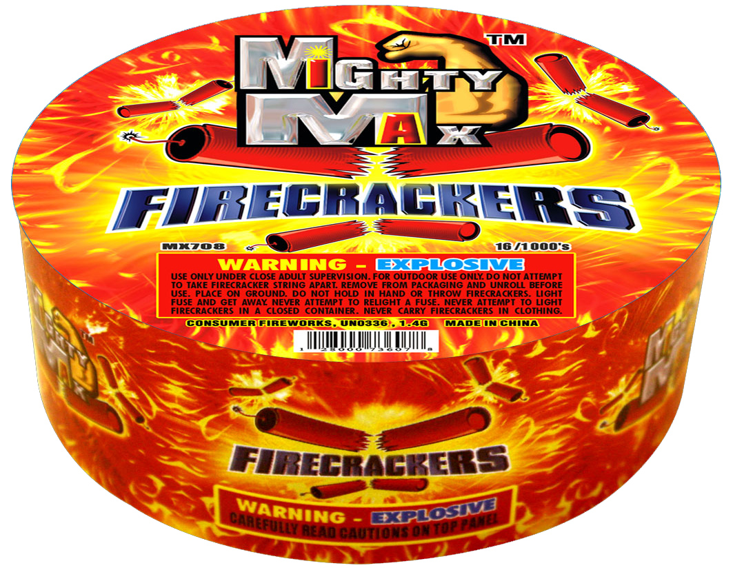 MX708 1-0.5 inch Mighty Max Firecrackers copy