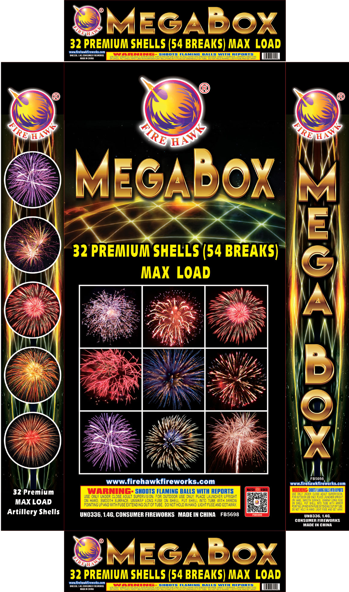 FB5698 Mega Box Back Side
