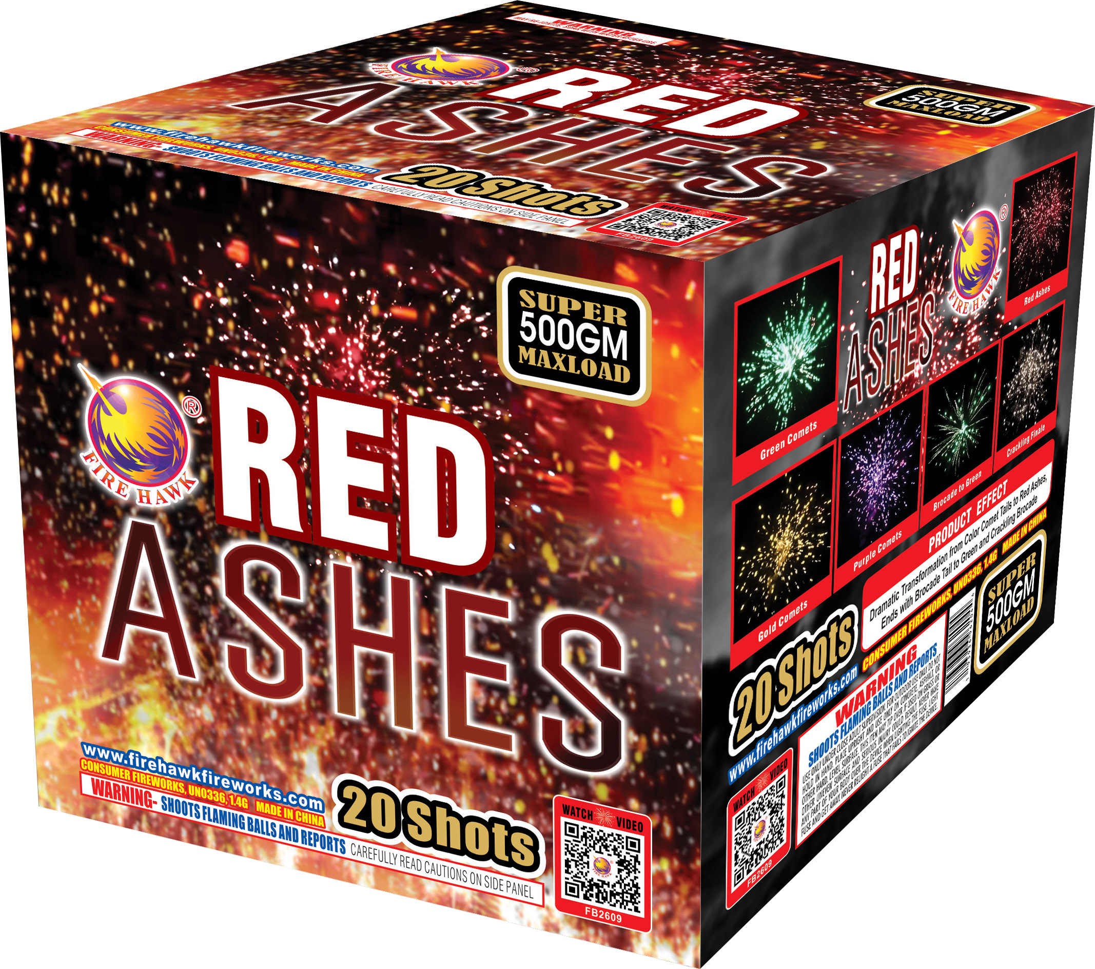 FB2609 Red Ashes