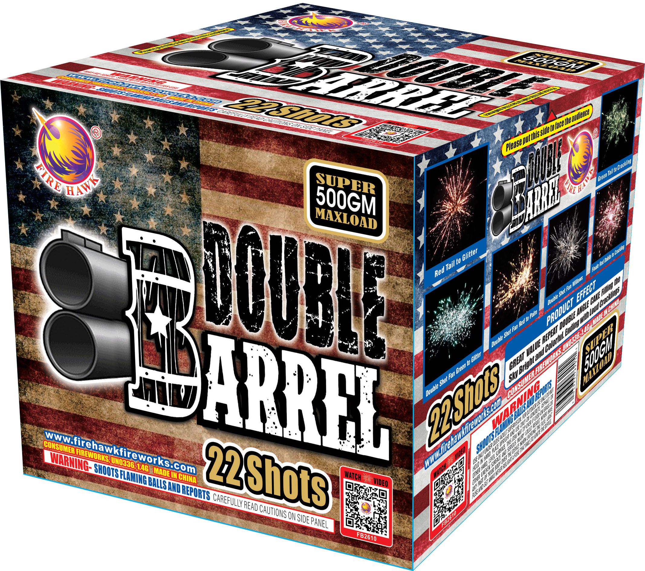 FB2610 Double Barrel