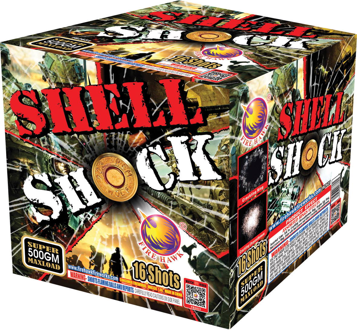 FB2631 Shell Shock