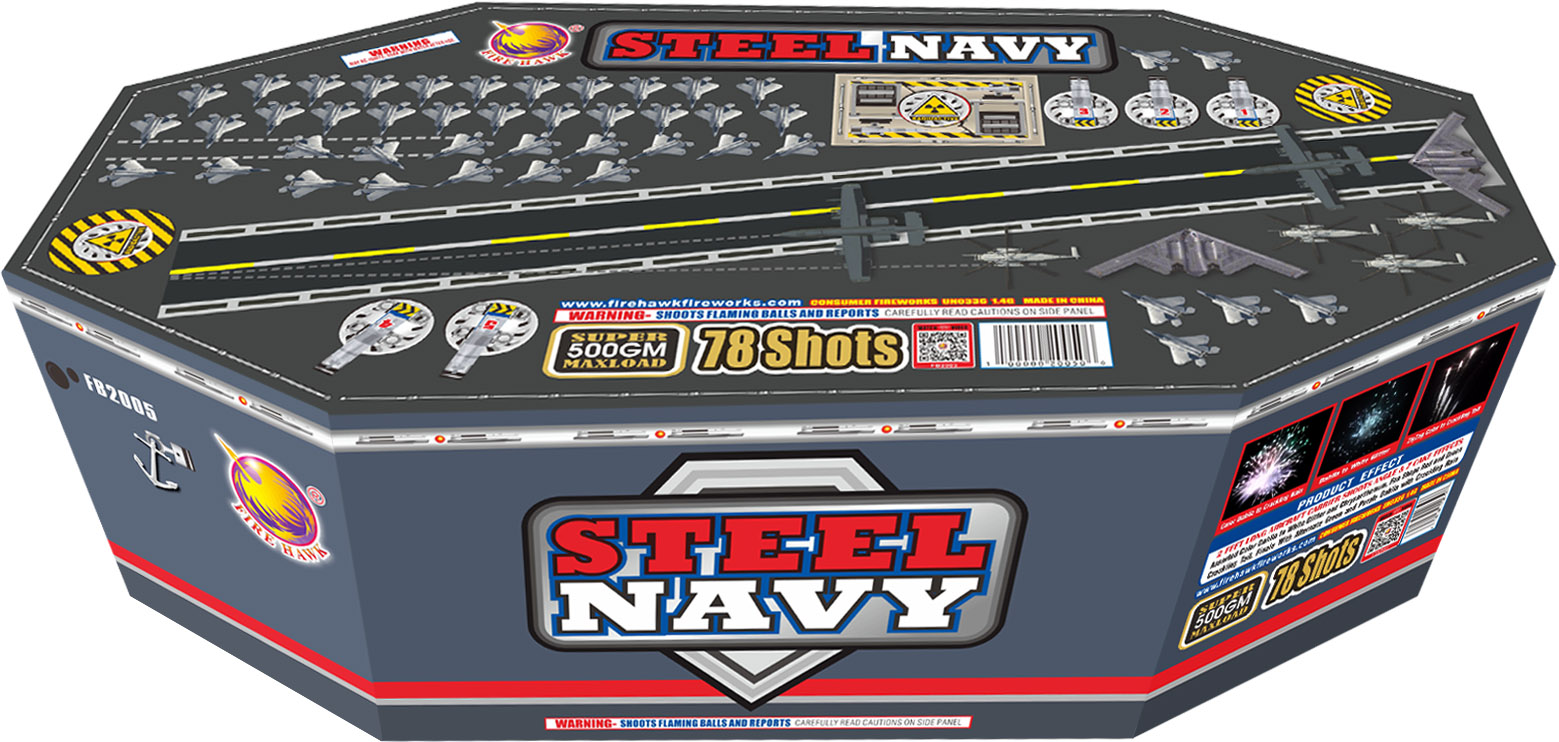 FB2005 Steel Navy
